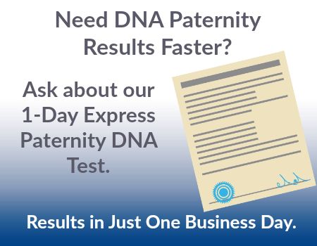 1-Day DNA Paternity Test